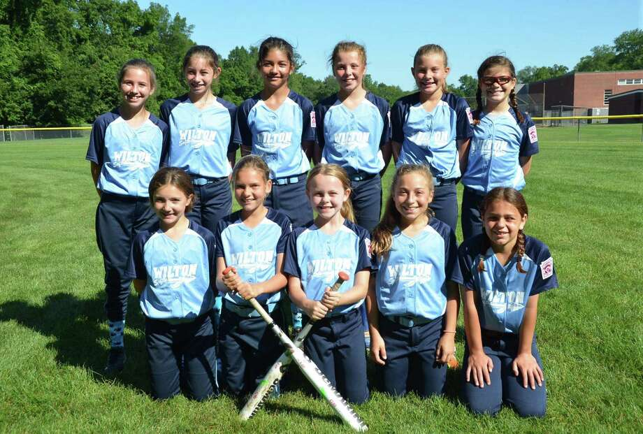 The Wilton 10-year-old Little League Softball All-Stars no-hit Rowayton in a game last week. Photo: Contributed Photo / Hearst Connecticut Media / Norwalk Hour