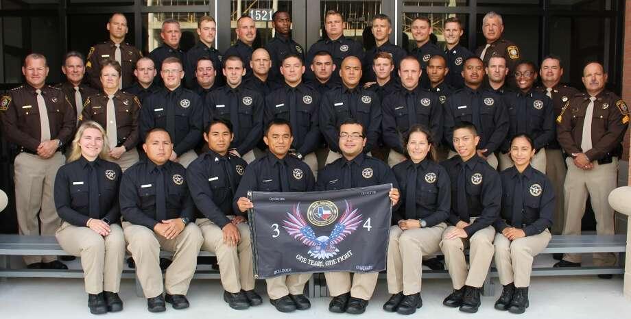 Law Enforcement Academy Graduates 34th Class June 27