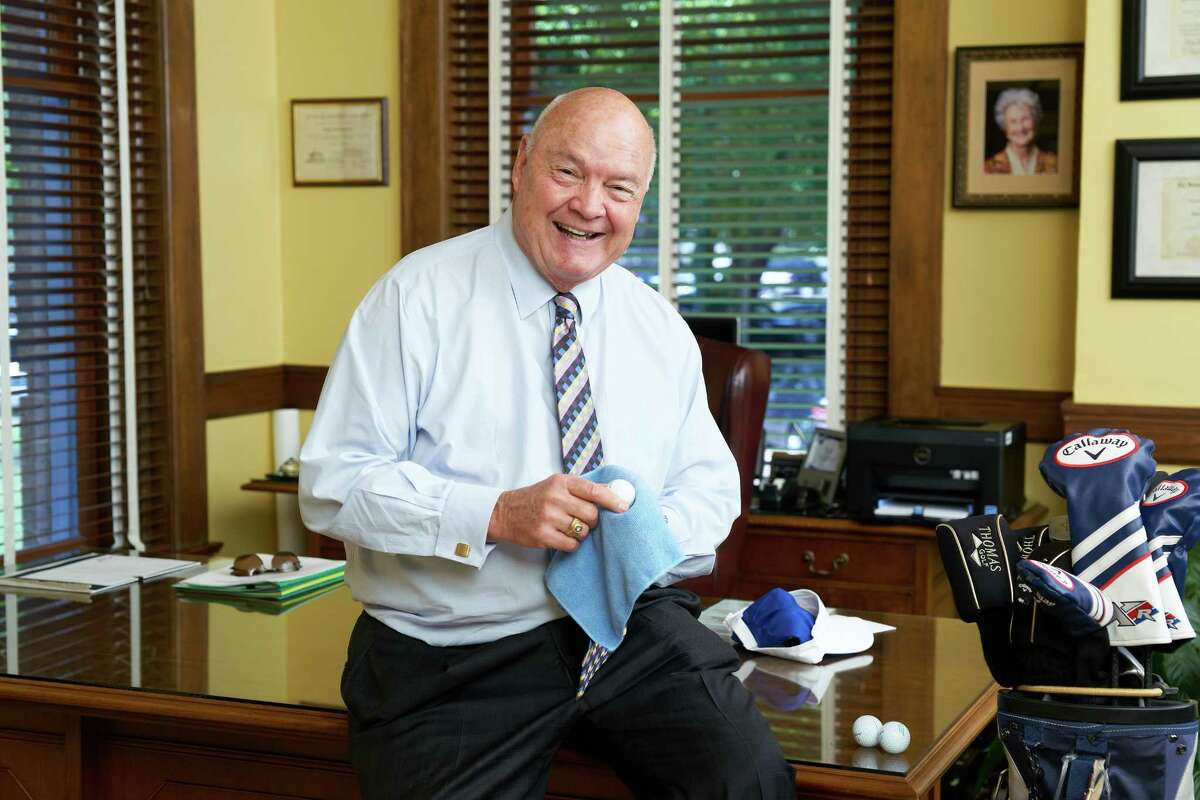 Fort Bend County Judge Robert Hebert is challenging all city mayors to put on their game face and join the Oct. 2 Hope For Three Golf Â?