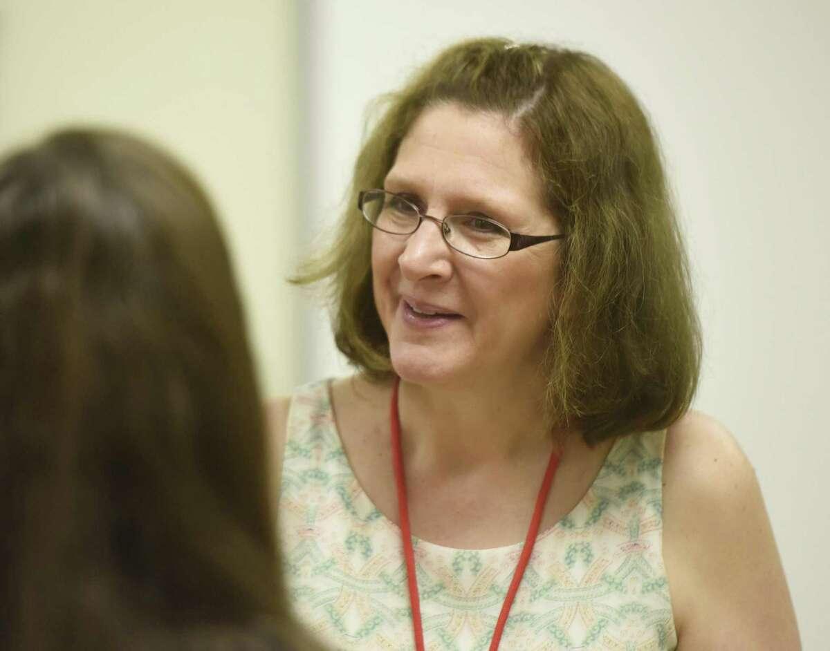 Jill Gildea became Greenwich school superintendent at the beginning of the month following interim superintendent Sal Corda's retirement.