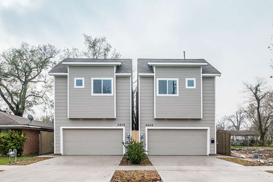 Parra Design Group homes in the Fifth Ward. Photo: Courtesy Of Parra Design Group