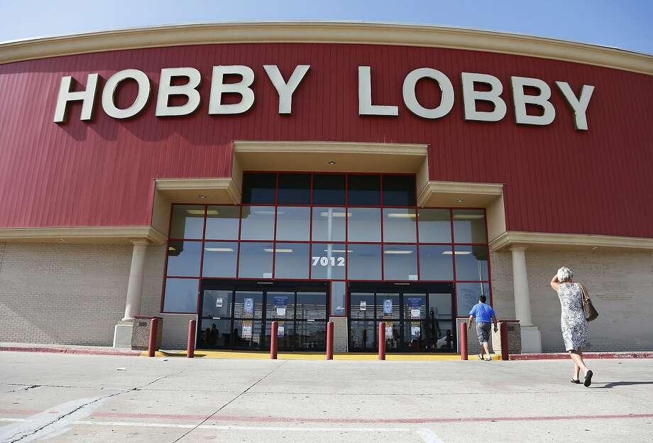 Hobby Lobby Photo: Sue Ogrocki, Associated Press