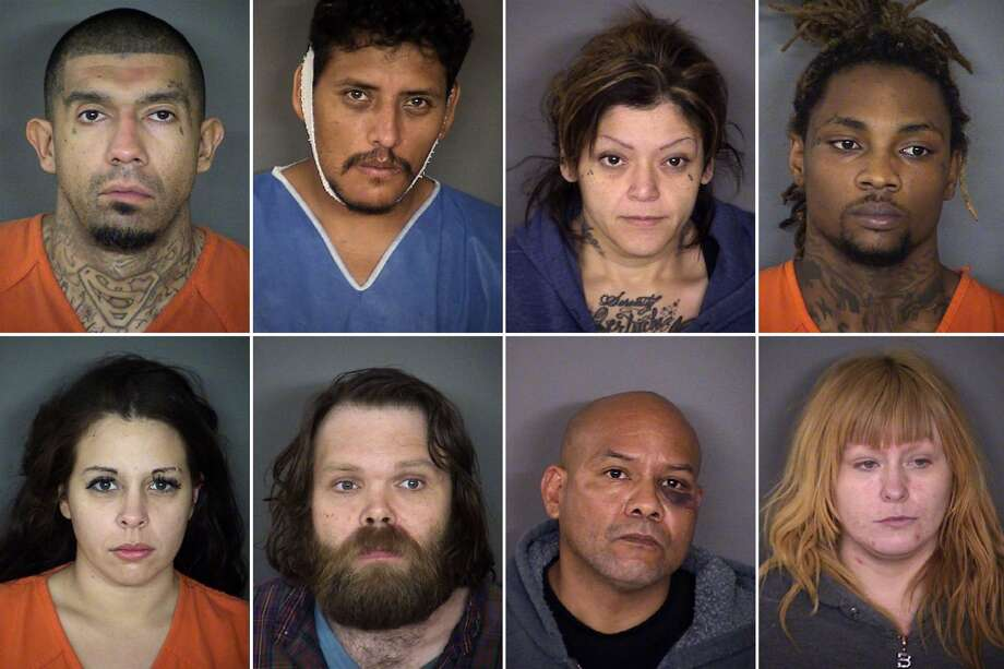 Forty-four people were charged with murder in Bexar County from Jan. 1 to May 31, 2017, according to records obtained from the sheriff's office. Click ahead to see their mugshots. Photo: File