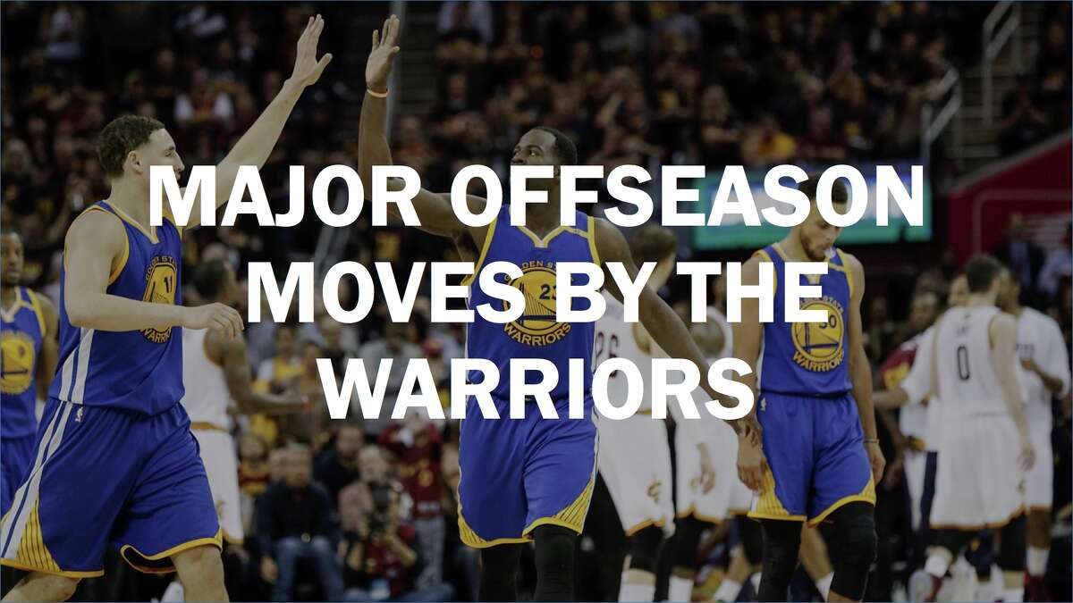 The Warriors spent big in the offseason in hopes of successfully defending the NBA crown this time around. Here's a look at the significant moves the team has made to keep the roster's core intact while adding key role players. Click the individual player names for full reports on signings.