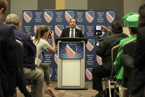 The League of United Latin American Citizens hosted their annual convention in San Antonio, and among the many events they had a press conference regarding the perks of being a sanctuary city and the reason for opposing the SB 4 at Henry B. Gonzalez Convention Center on July 6, 2017. Mayor Raul Reyes of El Cenizo spoke about the discrimination and marginalization that the passing of SB4 will cause the Latino community.