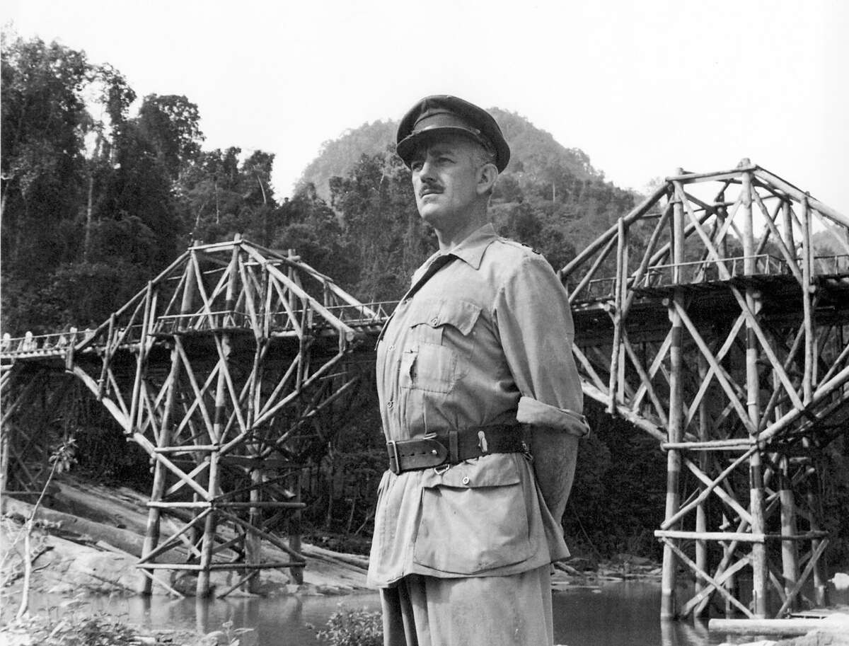 """Alec Guinness won an Oscar for his portrayal of Col. Nicholson in """"The Bridge on the River Kwai."""""""