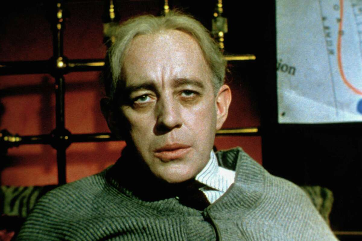 """Alec Guinness in The Lady Killers."""""""