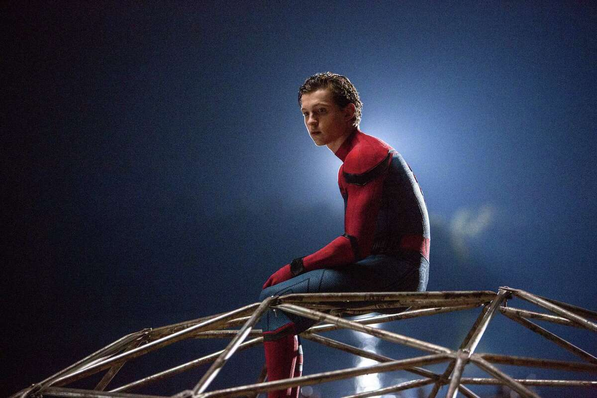 Tom Holland plays Peter Parker in