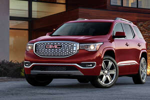 GMC offers seven trim levels of its midsize Acadia SUV and for 2017, buyers can choose between a 2.5-liter four-cylinder or an updated 3.6-liter V6.