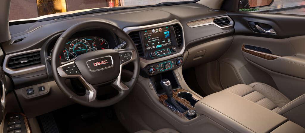 Downsized Gmc Acadia Sparkles With New V6 Safety Gear Houston