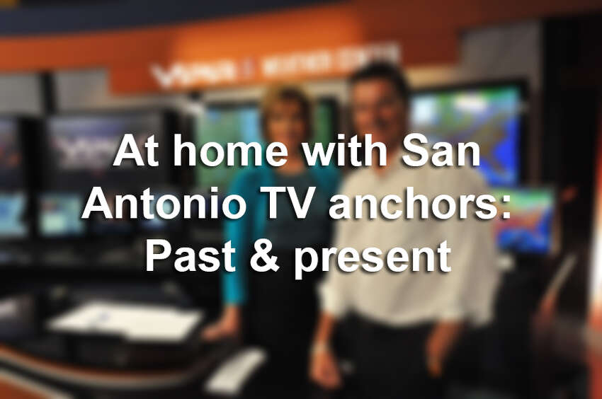 Click ahead to see the surprising sides of San Antonio TV anchors.