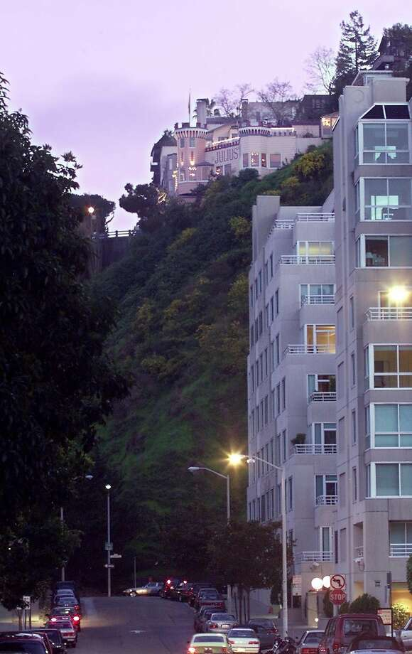 Julius' Castle, perched near the top of Telegraph Hill. Photo: KENDRA LUCK, SFC
