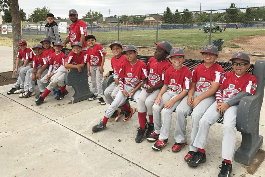 The Plainview 9-10-year-old all-star team won one of three games at their Little League state tournament last weekend. Team members are Ian Sepeda, Anthony Ramirez, Isaiah Medina, Jordan Porter, Zaerick Sifuentes, Davian Ramos, Ethan Lopez, Aaron Picasso, Marty Vera, Zach Martinez, Ryan Mesquite, Wyatt Bench and Seth Mayberry. The team's coaches are Sonny Urrutia, Keith Mayberry and Eric Ramos. Photo: Courtesy Photos