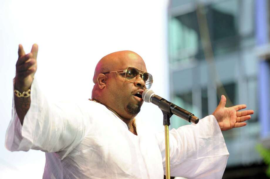 Five-time Grammy Award winner CeeLo Green performs during the first Alive@Five summer concert in Columbus Park in downtown Stamford, Conn. on Thursday, July 6, 2017. Photo: Michael Cummo, Hearst Connecticut Media / Stamford Advocate