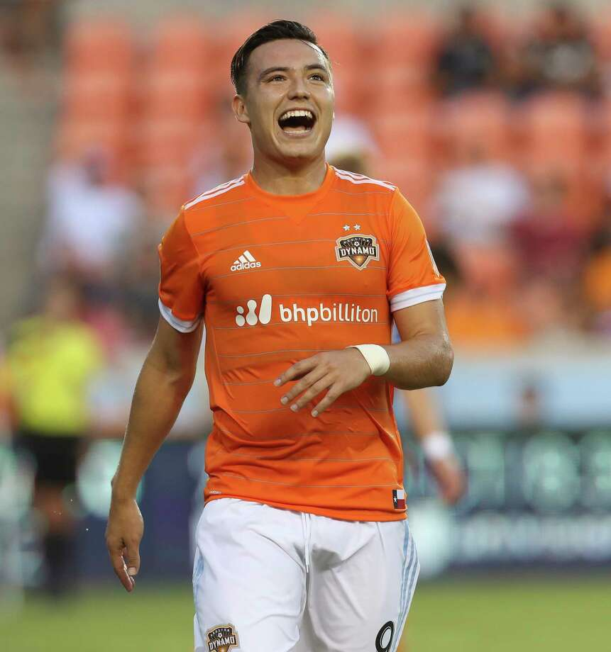 Dynamo forward Erick Torres  was named to Mexico's team as an injury substitution. Mexico is favored to at least reach the final of the tournament, if not win it. Photo: Yi-Chin Lee, Staff / © 2017  Houston Chronicle