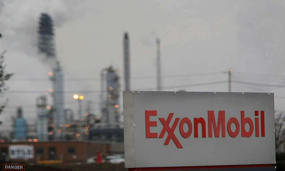 Exxon Mobil , the biggest U.S. oil company, has had its credit rating lowered by Moody's  Photo: Mayra Beltran, Houston Chronicle