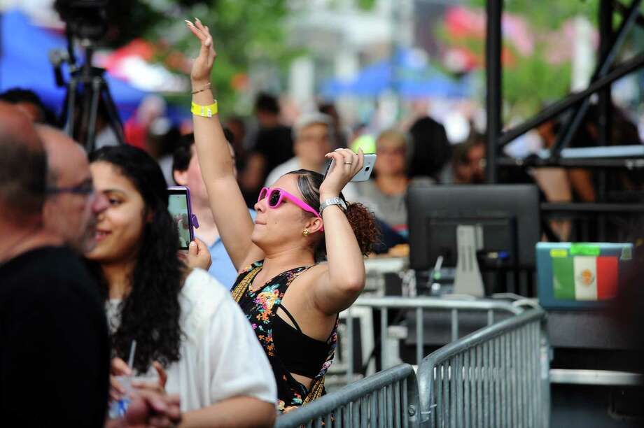Photos from the summer's first Alive@Five concert, featuring five-time Grammy Award winner CeeLo Green, in Columbus Park in downtown Stamford, Conn. on Thursday, July 6, 2017. Photo: Michael Cummo, Hearst Connecticut Media / Stamford Advocate