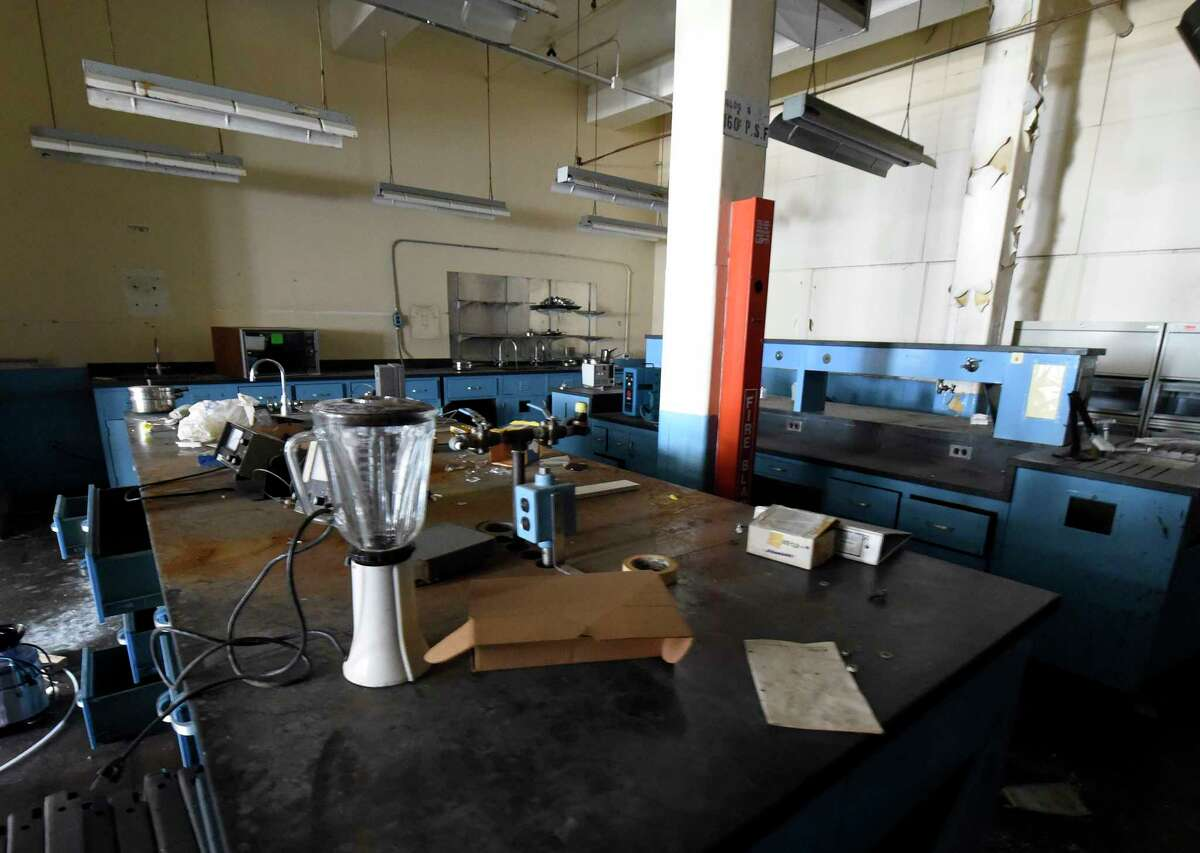 An interior view of a testing lab at the former Beech-Nut processing plant Friday June 24 2016 in Canajoharie, N.Y. (Skip Dickstein/Times Union)