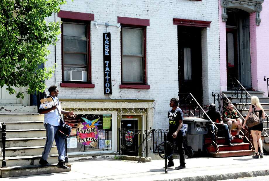 Lark Street Tattoo at 278 Lark Street on Thursday June 2, 2016 in Albany, N.Y. (Michael P. Farrell/Times Union) Photo: Michael P. Farrell / 20036797A