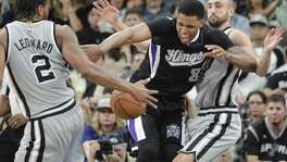 New Spurs forward Rudy Gay won't miss Sacramento.