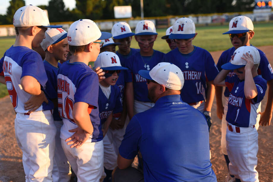 Midland Northern All-Stars celebrate a win against Lubbock Western All-Stars on Thursday, July 6, 2017 at Butler Sports Complex. James Durbin/Reporter-Telegram Photo: James Durbin/Reporter-Telegram