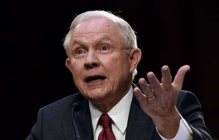 Attorney General Jeff Sessions lashed out at so-called sanctuary cities Thursday. Photo: Olivier Douliery, TNS