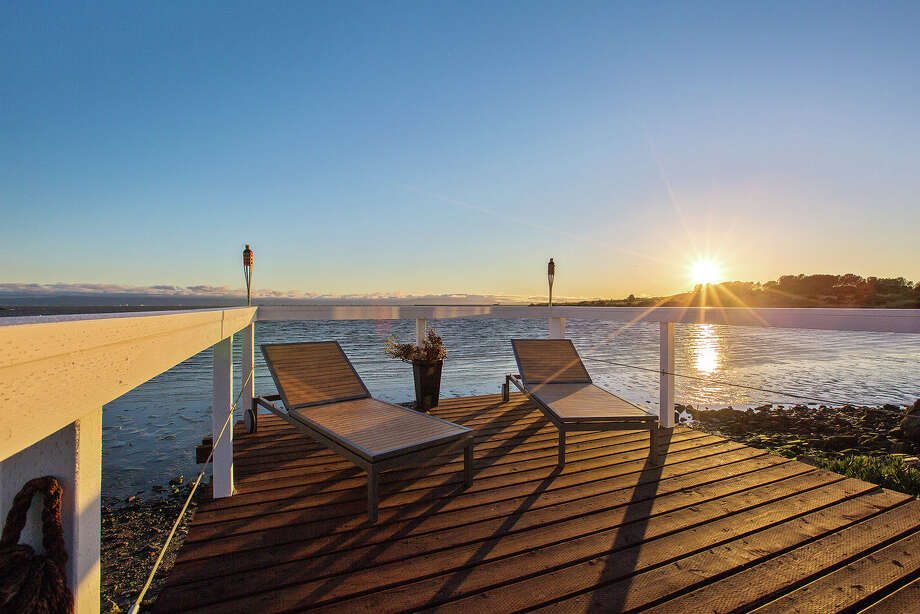 A waterfront San Leandro home at 13055 Neptune is on the market for $1.175 million. Photo: Open Homes Photography
