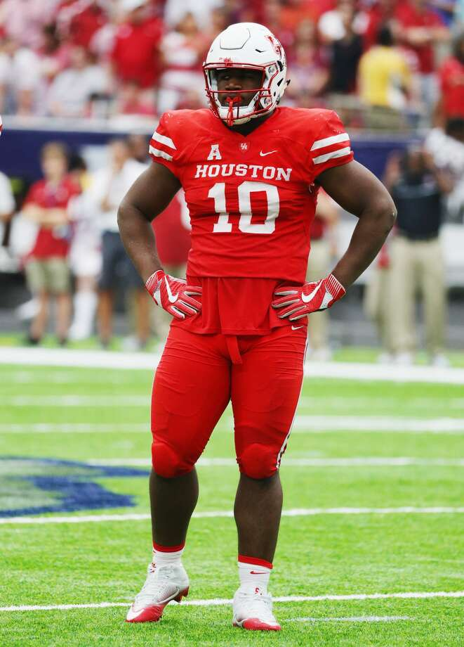 Ed Oliver: Sports Illustrated recently tabbed UH's sophomore All-American as the fourth-best player in college football. Hard to argue after a dominating freshman season produced 23 tackles for loss. Photo: Scott Halleran/Getty Images