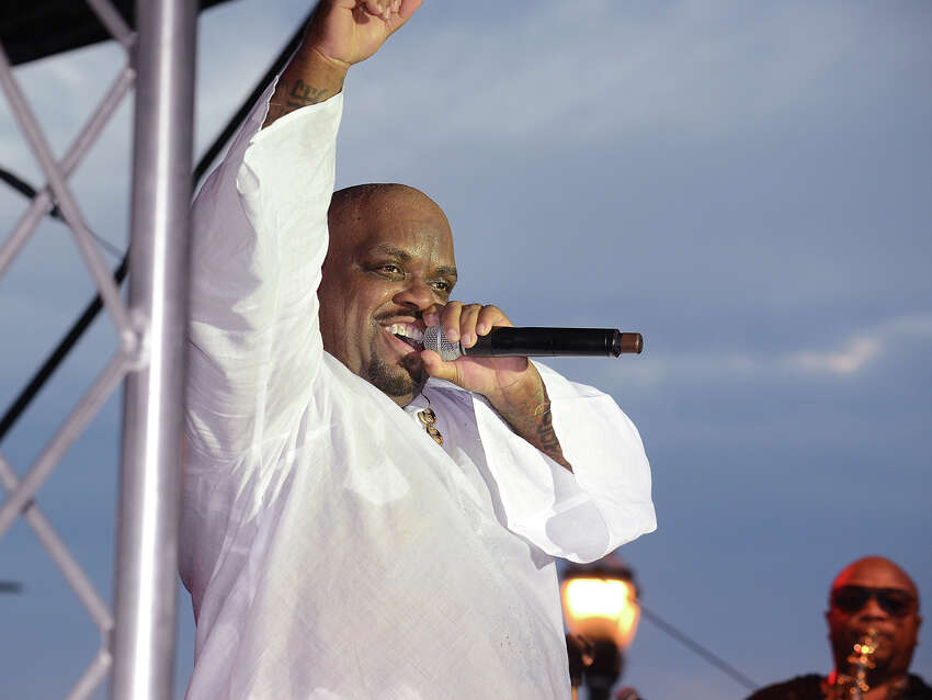 CeeLo Green kicked off the first Alive@Five concert of the season at Columbus Park in Stamford on July 6, 2017. Last summer, a storm washed out the Grammy Award-winner's scheduled performance. Were you SEEN?