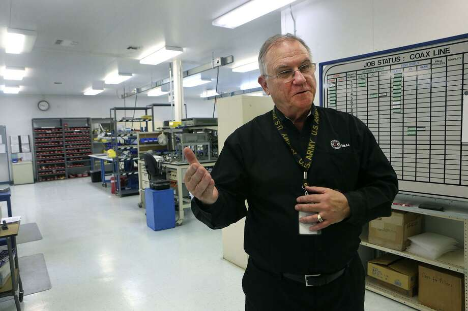 Doug Carlberg, president and CEO of M2 Global, says while defense contracts have helped save his company sequestration cutbacks during the Obama administration threatened his business. Photo: John Davenport /San Antonio Express-News / ©San Antonio Express-News/John Davenport