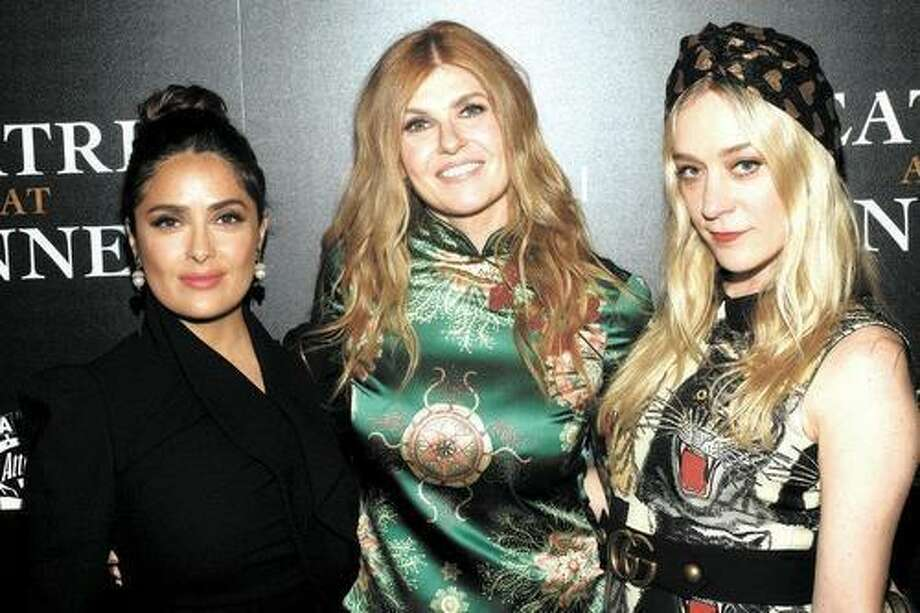 Salma Hayek, Connie Britton, and Chloe Sevigny at the screening for 'Beatriz at Diner in New York.' Photo: /