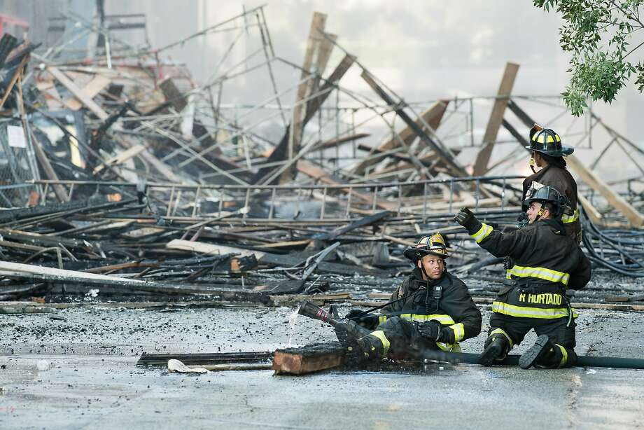 The Jobs and Housing Coalition is offering a $300,000 reward for information about suspected arsons at East Bay construction sites. Photo: Noah Berger / Special To The Chronicle 2017
