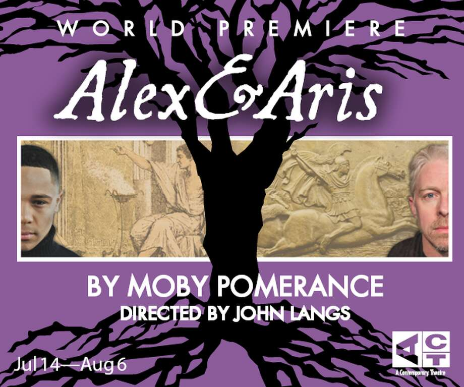 """World premiere of """"Alex & Aris"""" at Seattle's ACT Theatre."""