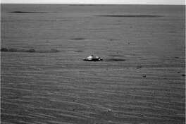 The mysterious object seen on Mars that led to speculation of alien spacecraft on the Red Planet.