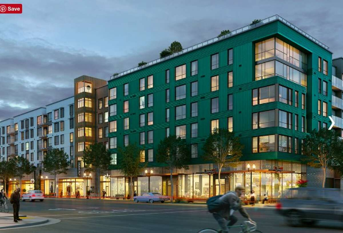 An image of the Alta Waverly development in Uptown Oakland. The project was engulfed in flames in Uptown Oakland on July 7th, 2017.