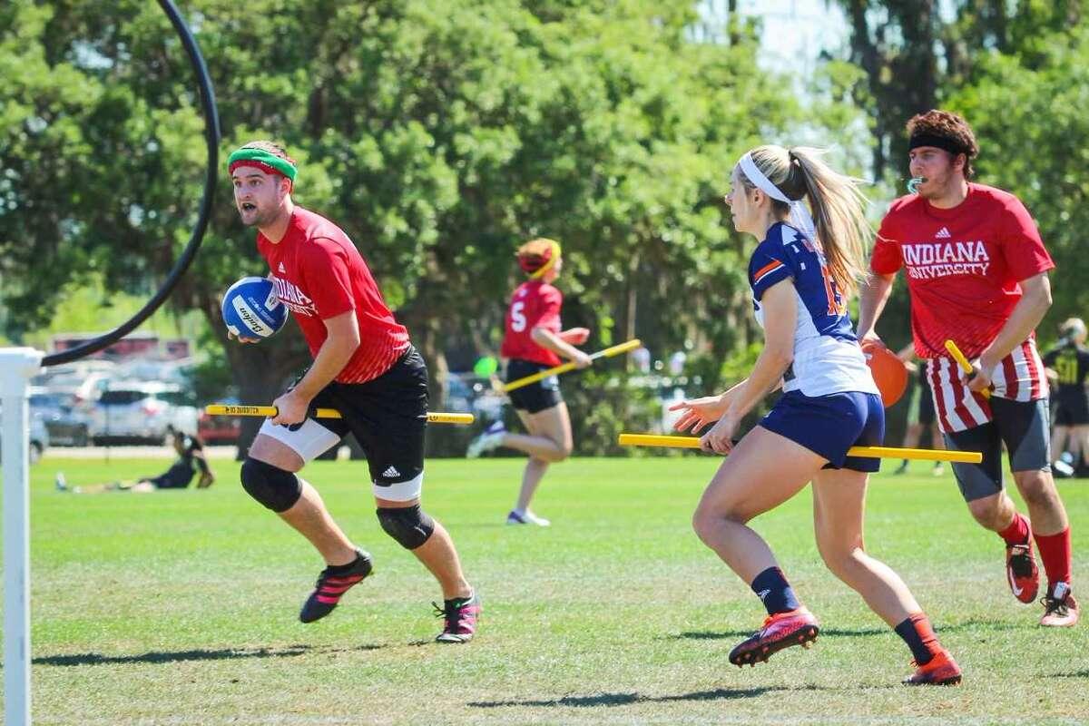 UTSA quidditch team competing in last year's U.S. Quidditch Cup 10.
