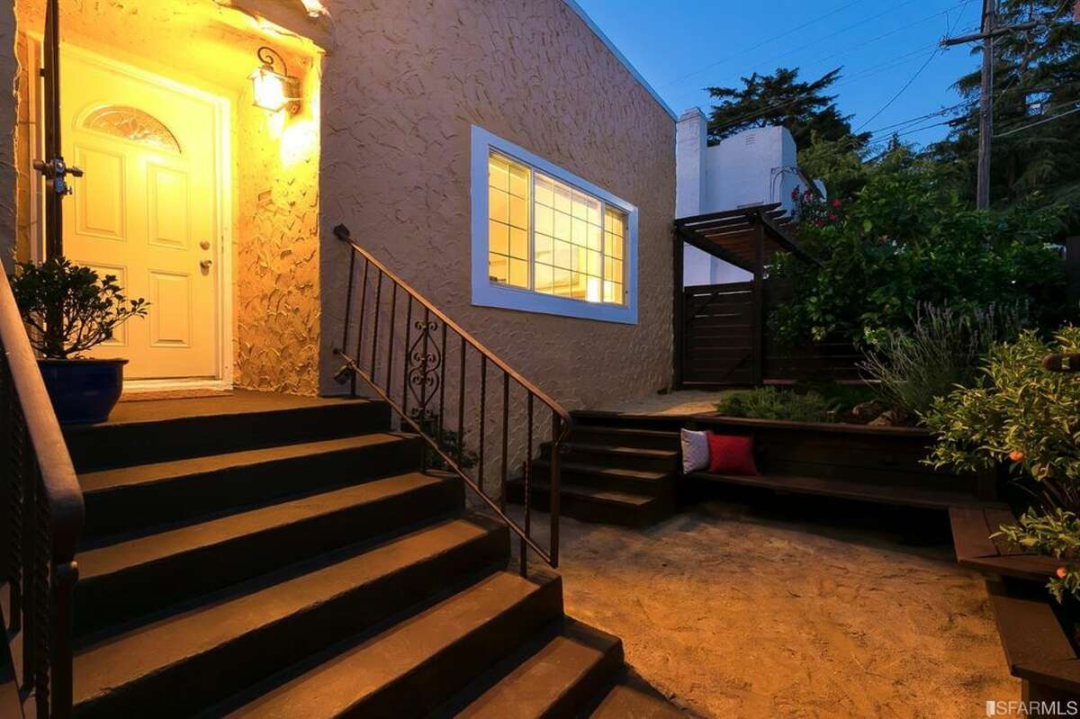Two-bedroom charmer in Oakland's Millsmont neighborhood near Mills College at 3545 69th Ave. is on the market for $599,000.