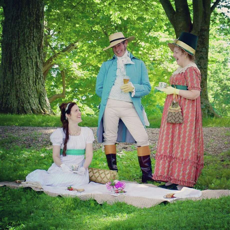 Pictured are re-enactors in a previous Jane Austen Festival. Photo: For The Edge