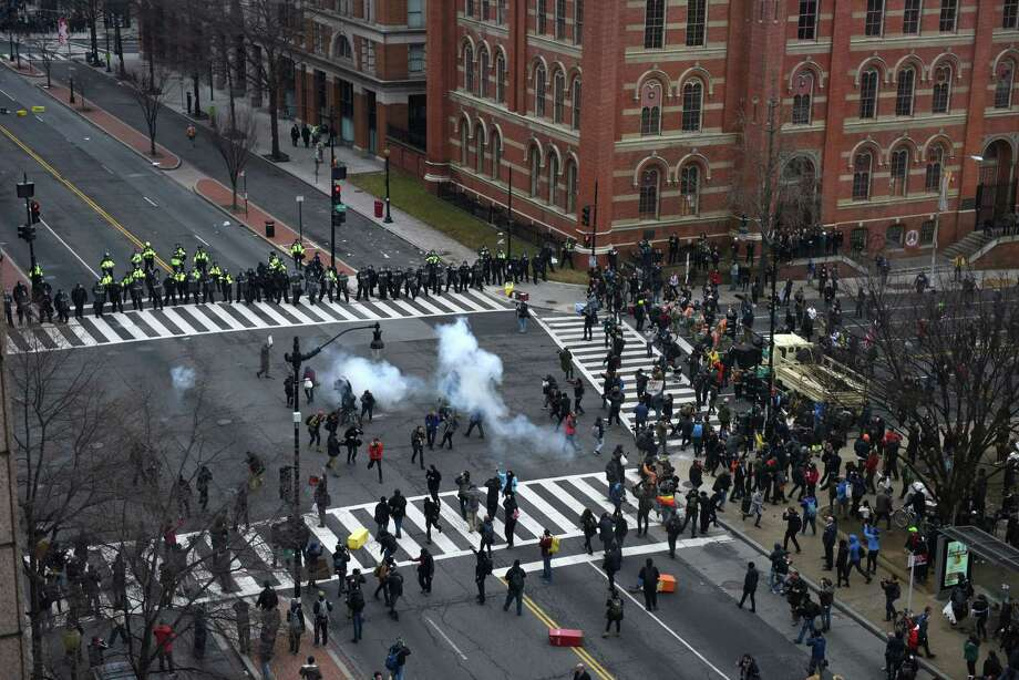 Rioter at Trump Inauguration Sentenced to Four Months in Prison