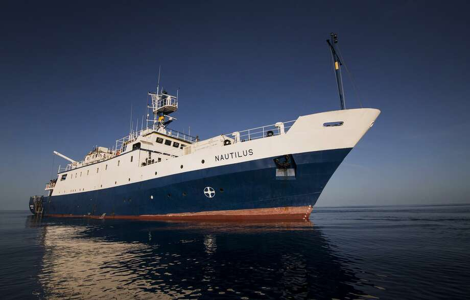 "Through Sept. 1, the Connecticut Science Center's ""Nautilus Live! Theater Show"" will transport audiences to the depths of the world's oceans with Robert Ballard and his Corps of Exploration aboard the Exploration Vessel Nautilus via a live feed. Photo: Ballard's Corps Of Exploration / Contributed Photo"