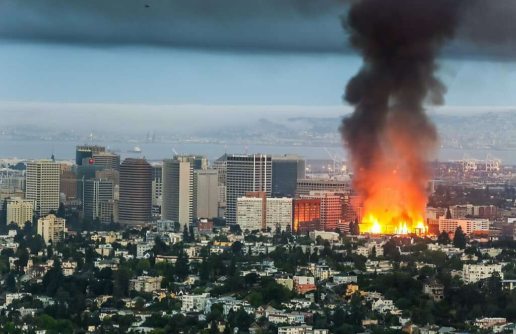 Anti Gentrification Direct Action In Oakland Arson At Housing Being Built For Whites Vdare
