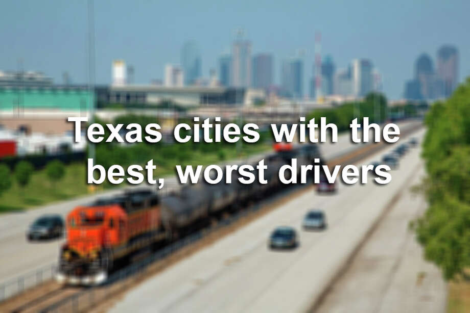 Keep clicking to see the Texas cities with the safest and most dangerous drivers, according to Allstate's 2017 Best Driver's Report.