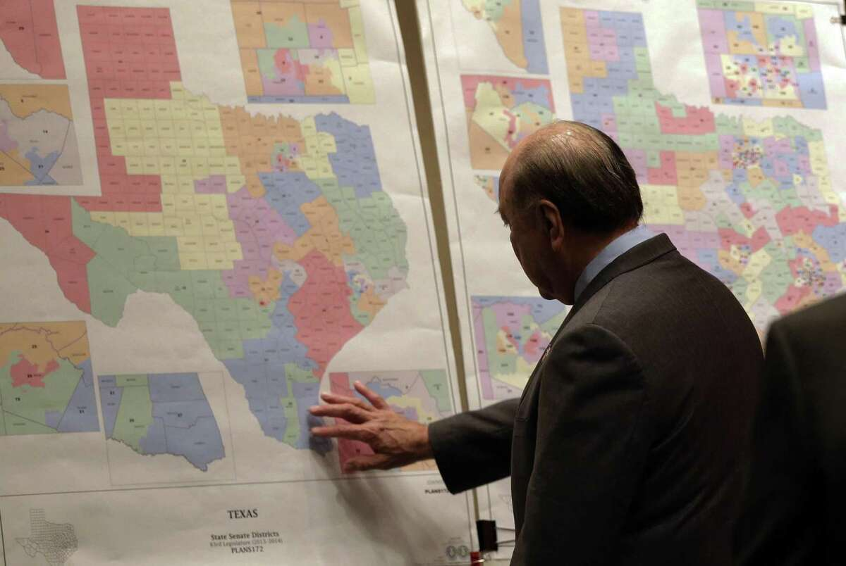 The Republican redistricting maps drawn in 2011 are all about keeping Republicans in power in Austin and in Washington. In the process, it fosters and fuels extreme views.