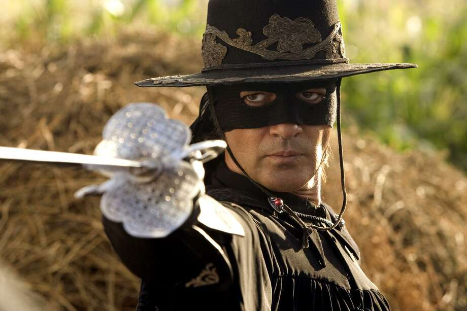 """Antonio Banderas played the hero in the film """"The Legend of Zorro."""" The real-life figure was a little more complex — and obscure. Photo: ANDREW COOPER /AP / COLUMBIA PICTURES"""