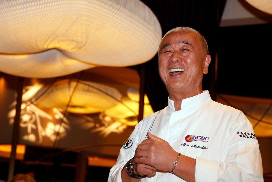 Chef Nobu Matsuhisa of Nobu restaurant during Vegas Uncork'd by Bon Appetit. The 2017 wine and food festival takes place April 27-30. Photo: Vegas Uncork'd