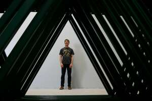 Ron SilbersteinAdmiral Maltings co-founder,  is framed by unassembled storage racks as he stands for a portrait at Admiral Maltings  on Monday, June 26, 2017 in Alameda, Calif.