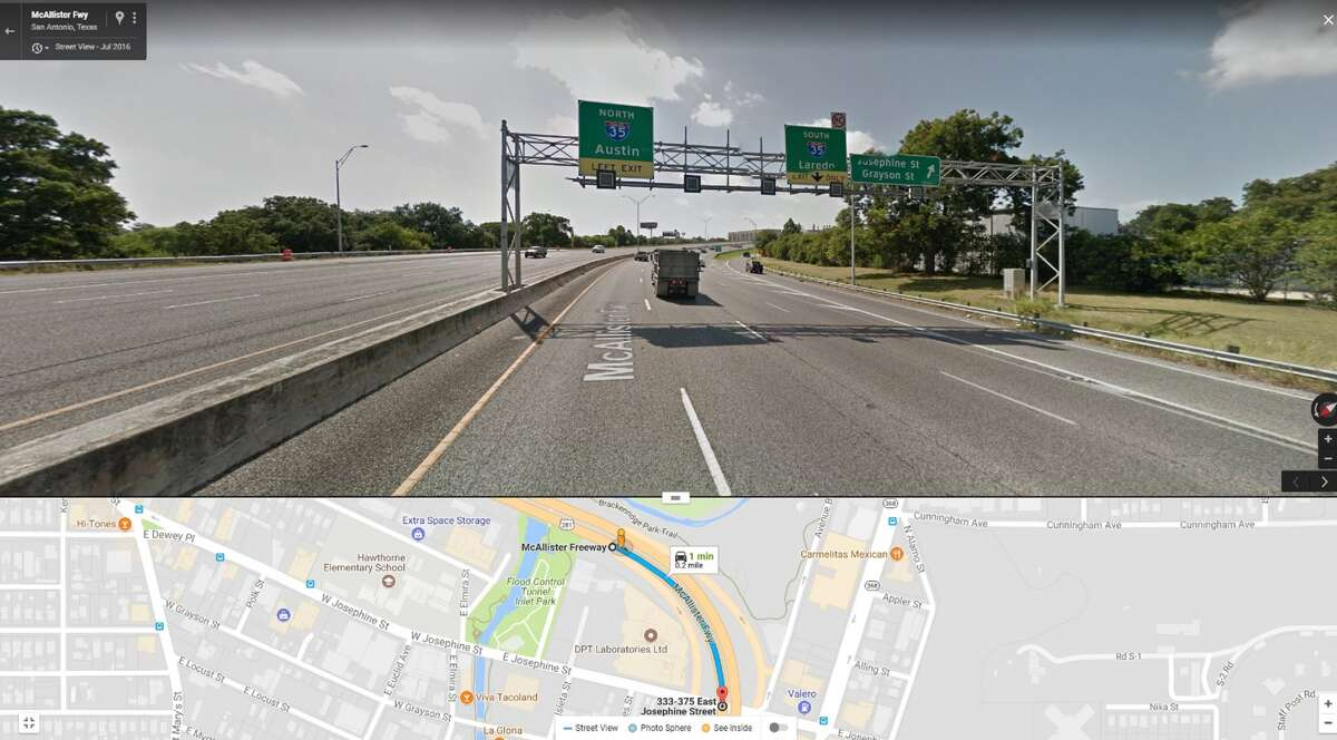 9 p.m. to 6 a.m. U.S. 281 from E. Josephine Street exit ramp to E. Josephine Street Crews will close one to two lanes and shoulder of southbound US 281 from E. Josephine Street exit ramp to E. Josephine Street for mill and resurface work.