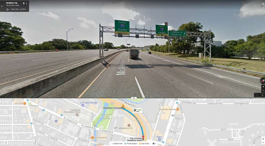 9 p.m. to 6 a.m. U.S. 281 from E. Josephine Street exit ramp to E. Josephine Street Crews will close one to two lanes and shoulder of southbound US 281 from E. Josephine Street exit ramp to E. Josephine Street for mill and resurface work. Photo: Courtesy, Texas Department Of Transportation