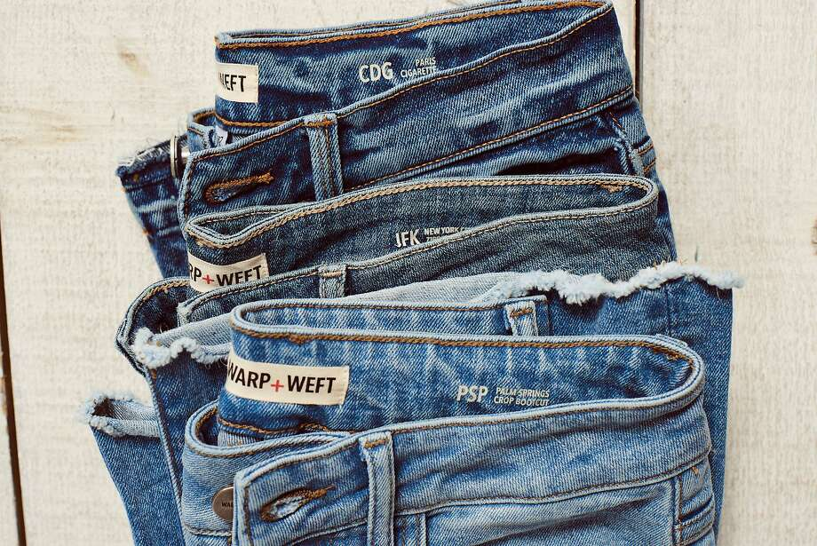 Warp + Weft is a direct-to-consumer denim line from Sarah Ahmed, who is also the creative director of DL1961. Photo: Warp + Weft