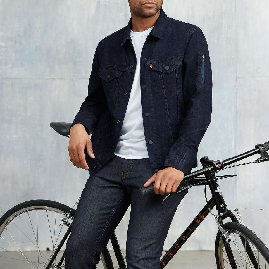 The Levi's Commuter Trucker Jacket with Jacquard by Google. Photo: Levi's
